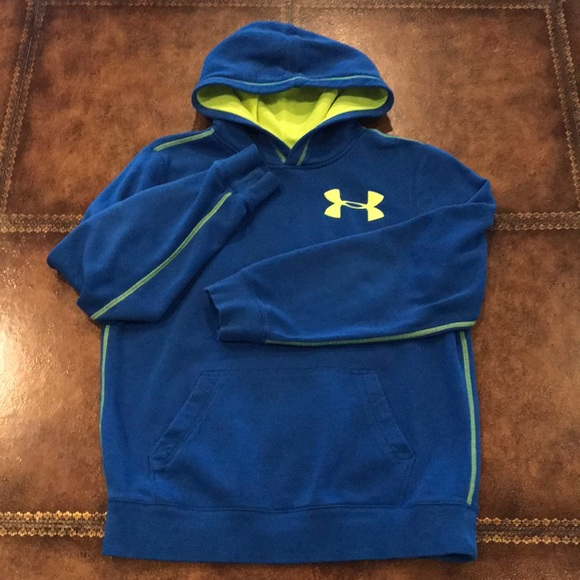 Boys Under Armour Hoodie Size Youth Large
